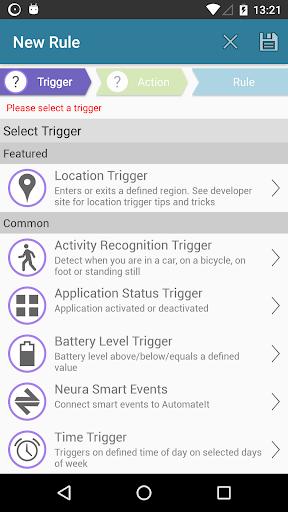 AutomateIt screenshot 4