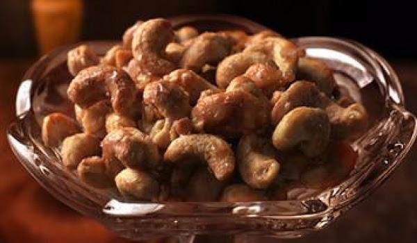 Honey Cashews Recipe