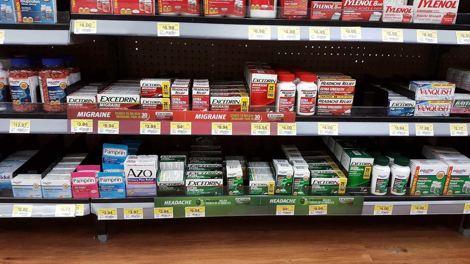Walmart, Excedrin, Collective Bias, Migraine, Headache, Extra Strength