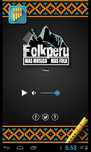 Radio Folk Perú- screenshot thumbnail