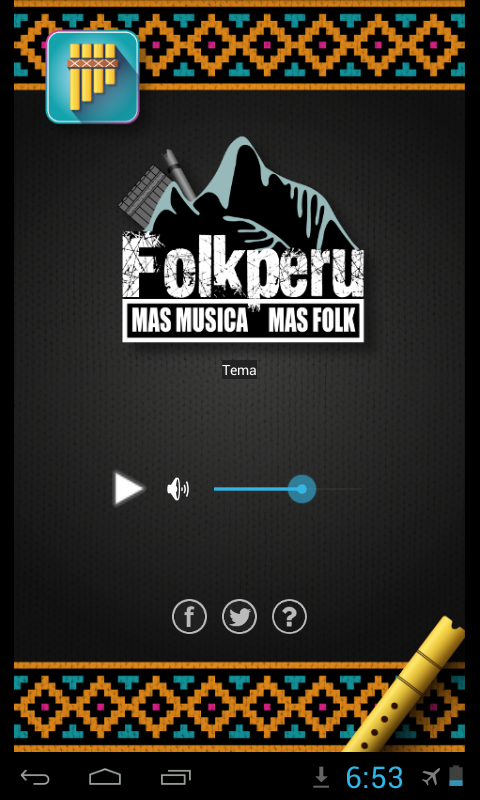 Radio Folk Perú- screenshot