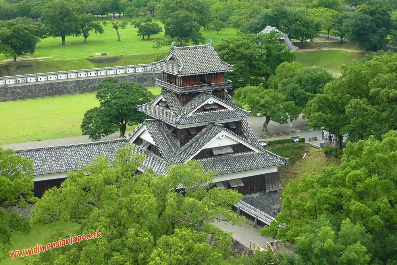 P1060978 Desde el Interior del castillo de Kumamoto (Kumamoto) 15-07-2010