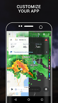 Storm Radar with NOAA Weather and Severe Warning