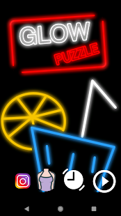 GlowPuzzle Ads Free Screenshot