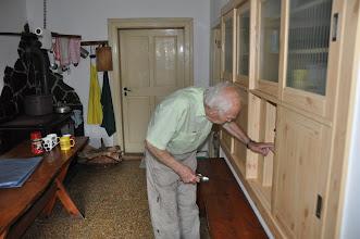 Photo: Natáčení dokumentu s pamětníkem Luďkem Eliášem (čtvrtek 28. červenec 2011, Norberčany - Nová Véska u Moravského Berouna). Pan Eliáš byl skvělý hostitel.