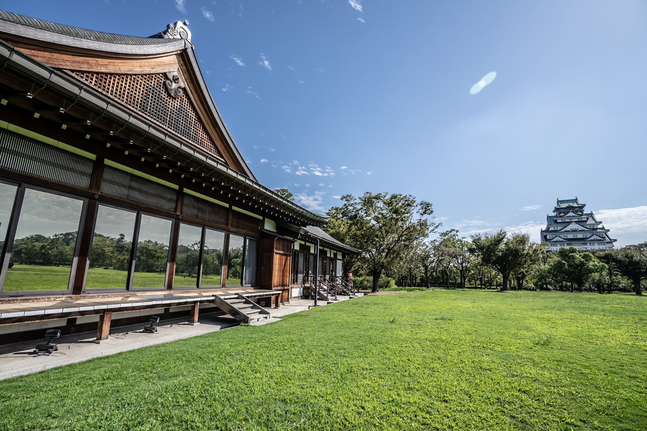 Osaka Castle Park Nishinomaru Garden Osaka Geihinkan (Guest House)1