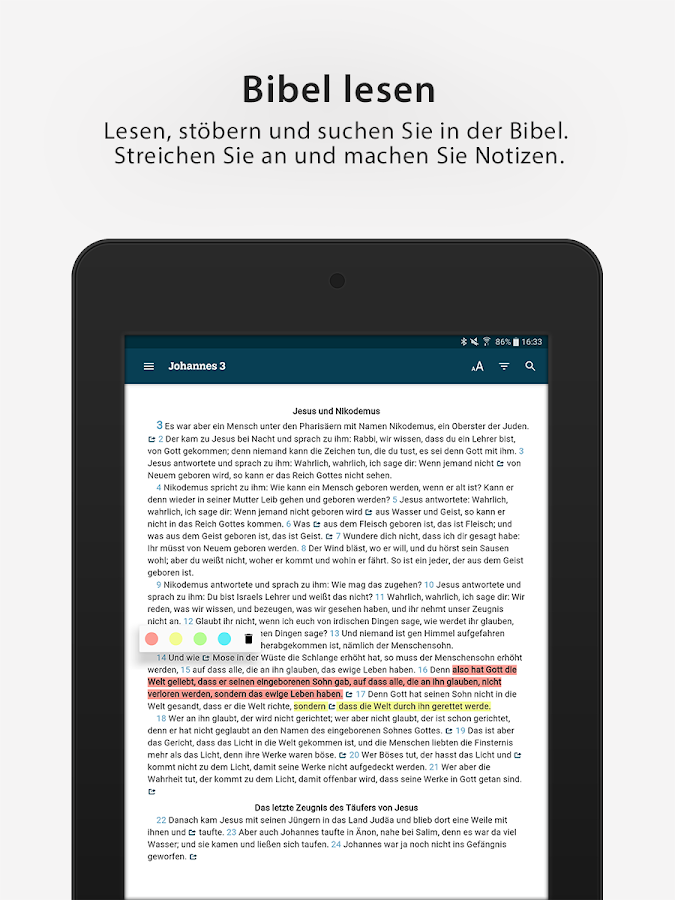 Lutherbibel 2017- screenshot