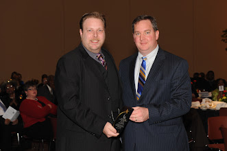 Photo: Sharing the Dream Award Winner Jonah Hanft with the Rev. Andy Mangum
