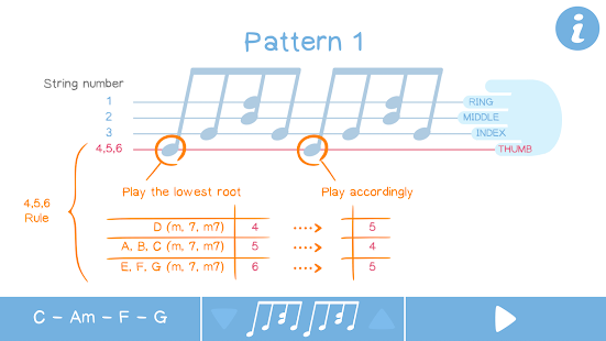 Arpeggio Pattern: Guitar tool- screenshot thumbnail