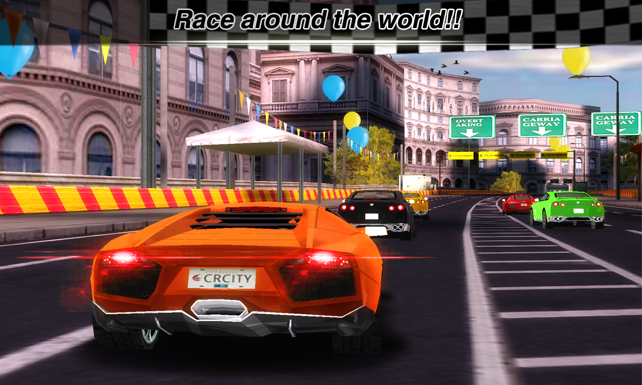 Download Game Racing Turbo 3d