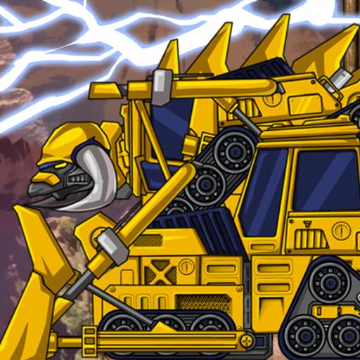 休閒App|합체! 다이노 로봇 - 스테고사우루스 공룡게임 LOGO-3C達人阿輝的APP