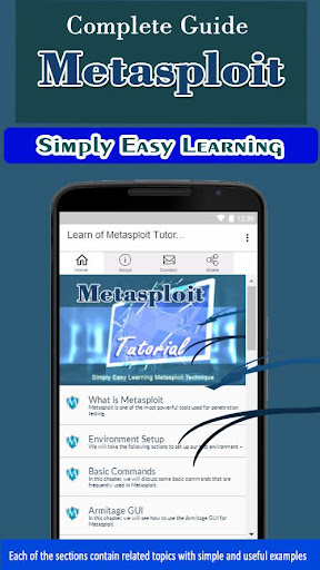 Download Learn of Metasploit Tutorial Concept and Technique on PC