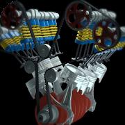 Engine Model 3D Live Wallpaper
