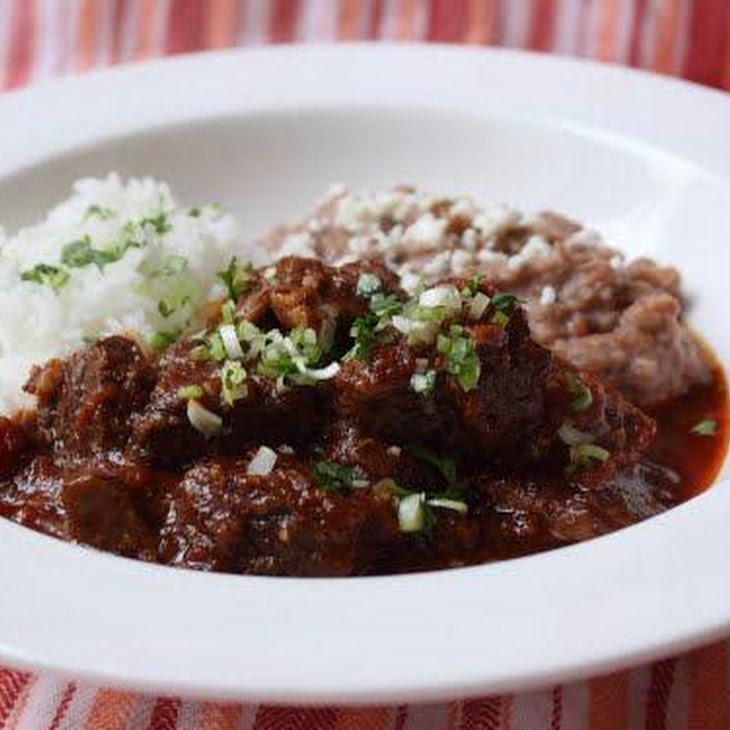 John's Pressure Cooker Beef Chili Colorado – Reader