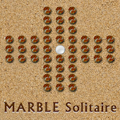 MARBLE Solitaire GAME (PEG)