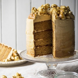 Salted Caramel Coma Cake