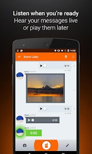 Voxer Walkie Talkie Messenger Screenshot 4