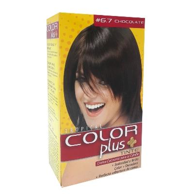 tinte color plus kit chocolate