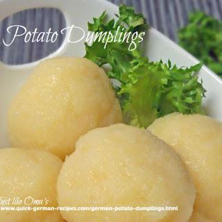 Bayerische-Wald Potato Dumplings