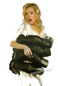 Klänning med gorillahand