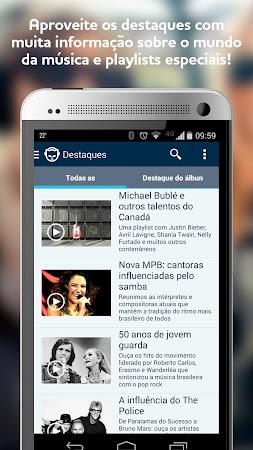 Vivo Música by Napster 5.2.0.333 screenshot 237567