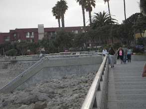Photo: Pier with shops and restaurants at Ventura Promenade. 5 minute drive from our house or a 20 minute walk.