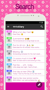 App Diary with lock APK for Windows Phone