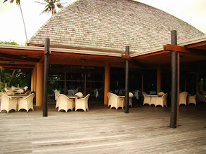 Photo: #006-Tieti Tera Beach Resort de Poindimié. Le restaurant