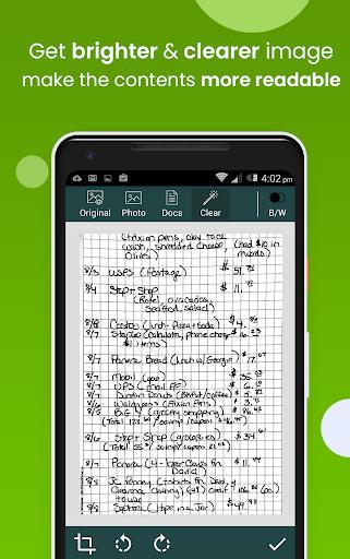 Clear Scan: Free Document Scanner App,PDF Scanning screenshot 2