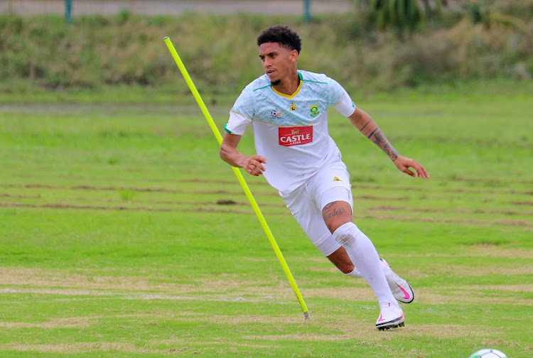 Rushine de Reuck will hope that his move to Mamelodi Sundowns, form and game time permitting, can increase his chances of breaking into the regular Bafana Bafana team.