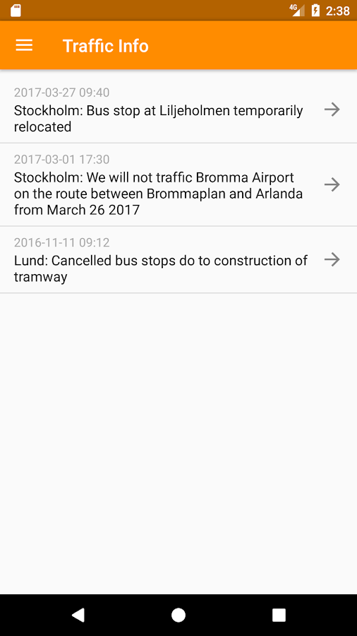 Flygbussarna Airport Coaches- screenshot