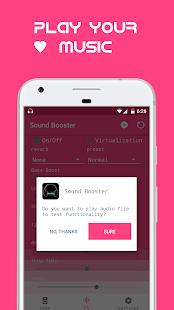 Sound Booster eQualizer - náhled