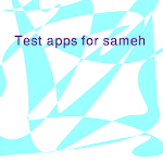 Test apps for sameh  icon
