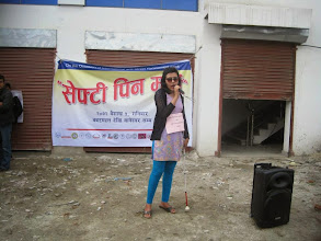 Photo: 4.18.15 youth march in Nepal