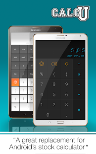 CALCU™ Stylish Calculator Free- screenshot thumbnail