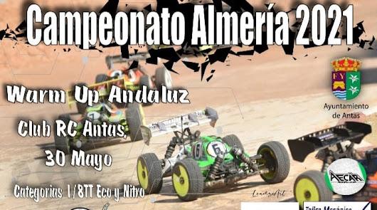 Antas acoge este domingo el Campeonato de Almería de Automodelismo