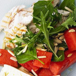 Chicken Salad with Watermelon and Basil
