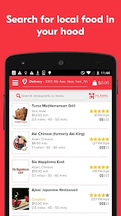 Grubhub Food Delivery/Takeout Screenshot 2