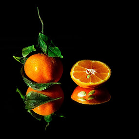 Orange Reflection by William Ay-Ay - Artistic Objects Still Life