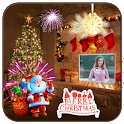 Christmas Photo Video Maker With Music icon