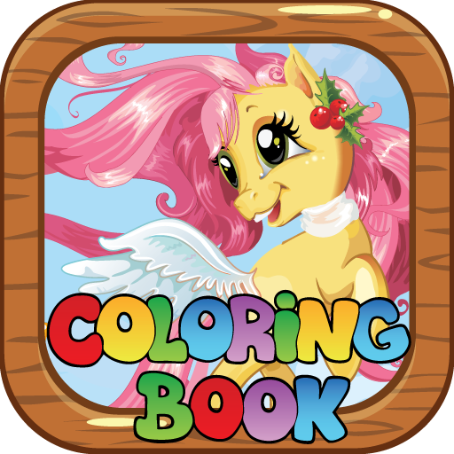 Pony Coloring Book Games apk free download for AndroidPCWindows