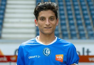 Ahmed Mostafa a fait ses débuts avec La Gantoise à Bruges