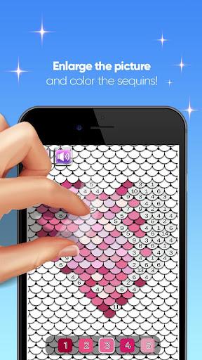Screenshot for Super Sequin Simulator - DIY Flip in Hong Kong Play Store