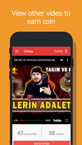 UView - View4View - Get free views for video. screenshots 4