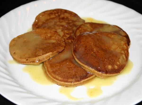 Gingerbread Pancakes W/orange Sauce