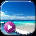Vagues De L'océan Fond D'écran icon