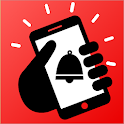 Don't touch my phone: Motion alarm app icon
