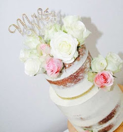 Bespoke Naked Wedding Cake In Hertfordshire | Wedding Cake Maker | Cakes By BabyBelles
