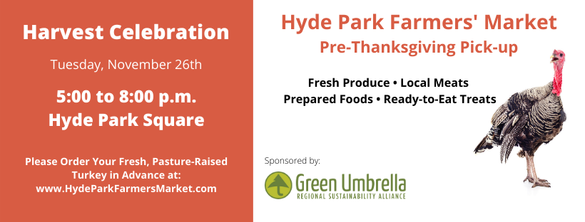 Pre-Thanksgiving Pick-up at Hyde Park Farmers' Market Harvest Celebration