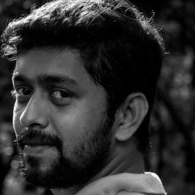 Hero  by Iqbal Kabir - Black & White Portraits & People